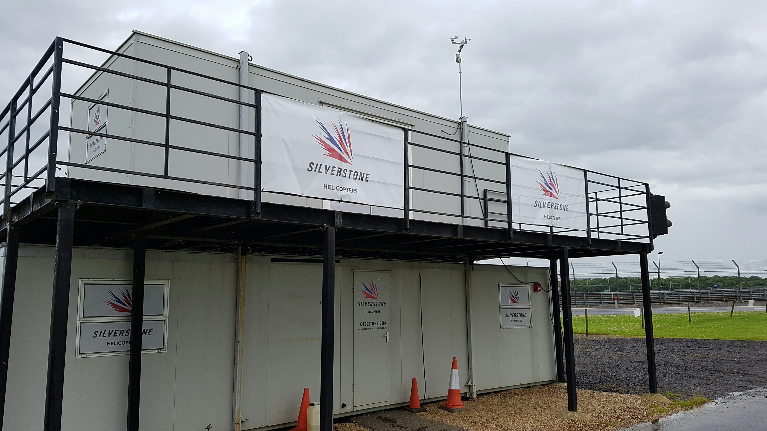Self Adhesive Amp Pvc Banner Cabin Graphics Silverstone