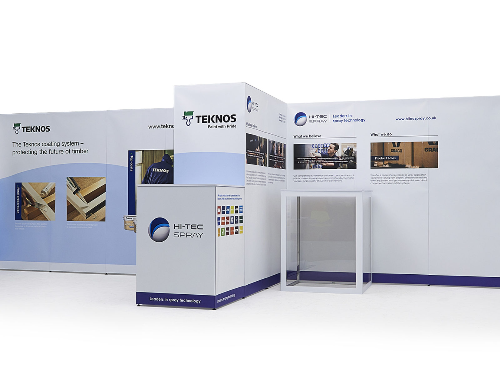 Exhibition Stand Graphics : Exhibition stand teknos b graphics