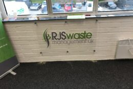 Office Branding Rigid Wall Graphics Acrylic Rjs Wastemanagment 02