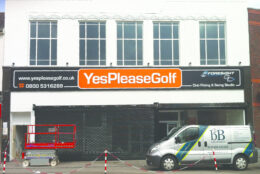 Fascia Signage Yes Please Golf 01 Copy