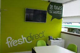 Office Branding Self Adhesive Wall Graphics Freshdirect 05