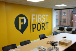 Office Branding First Port Wall Graphics 4