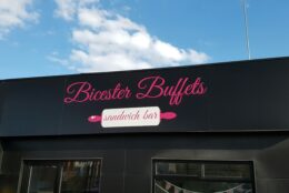 Outdoor Signage Fascia Signs Bicester Buffets 01