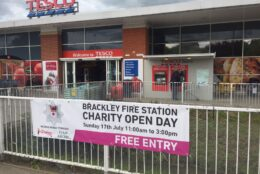 Outdoor Signage Pvc Banners Brackley Fire Station 02
