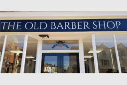 Outdoor Signage Self Adhesive Aluminium Composite The Old Barber Shop 05
