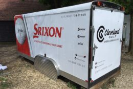 Vehicle Wrap Golf Trailer Srixon 01