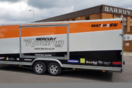 Vehicle Wrap Pepstar Racing Blowfish 07