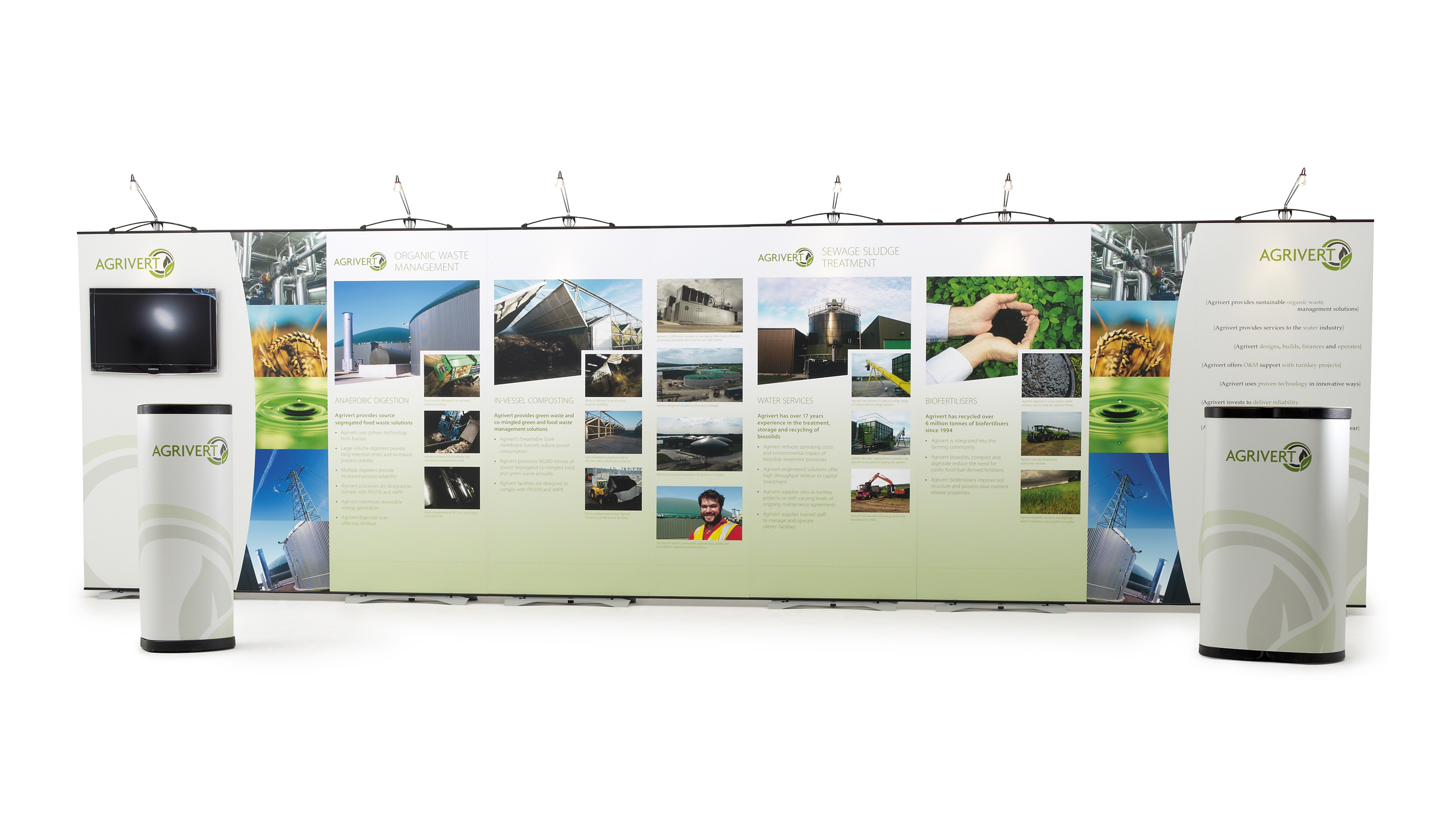 Exhibition Stand Graphics : Exhibition stand agrivert b graphics